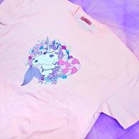 ユニコーンTシャツ(ピンク)/Unicorn T-shirt(Pink)