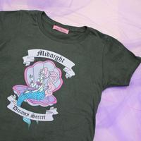 マーメイドTシャツ(ダークグレー)/ Mermaid T-shirt(Dark Gray)