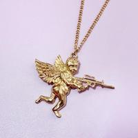 エンジェルロングネックレス/ Angel Long Necklace