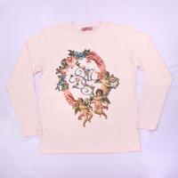 エンジェルフラワーシャツ(ピンク)/Angel Flower Shirt (Pink)