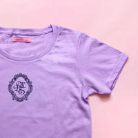 M.D.S T-shirt(Purple x Black)