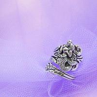 マーメイドスプーンリング/ Mermaid Spoon Ring
