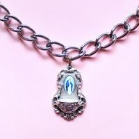 マリア様メダイチェーンネックレス/ Miraculous Medal Chain Necklace