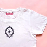 M.D.S T-shirt(White x Black)タグなし