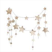 NUMERO74 falling star garland gold