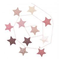 NUMERO74 Garland-pink stars