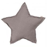 NUMERO74  Star cushion-Grey and stars