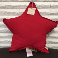 NUMERO74 Star Cushion-Ruby Red