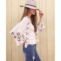 EMBROIDERY CARDIGAN