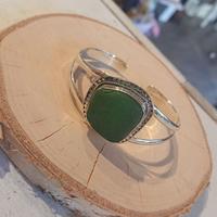betty belts/シーグラスバングルCAYDEN(Green)