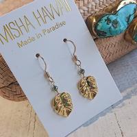 MISHA HAWAII(ミシャハワイ)/ピアスMONSTERA