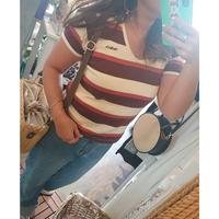 THRILLS(スリルズ)/Tシャツ-Charlie stripe