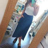 Leona(レオナ)/コーラルプリントラップスカート