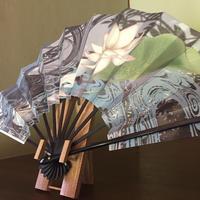 Folding Fan(舞扇)・Wraith in water.