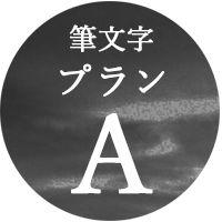 筆文字/Aプラン