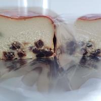 ラムレーズン ベイクドチーズケーキ【1ヵ月以内のお届け】