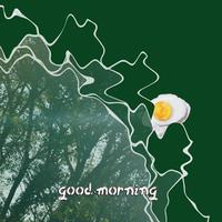 """4th digital single """"good morning"""" mp3 + wav + 歌詞カード"""