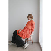 Remake T-shirt mini Dress(Orange)