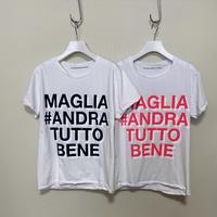 Maglia T-shirt#ANDRA TUTTO BENE