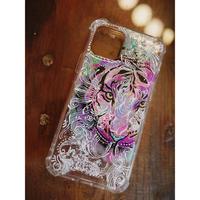 1点物≫ Handmade painting iPhone11pro 耐衝撃ケース★2020-002