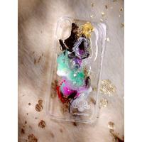 1点物≫ Handmade iPhone XS MAX 耐衝撃ケース★2020-001