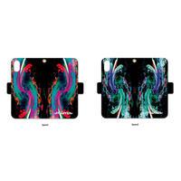 手帳型iPhone case>>>Space-2color