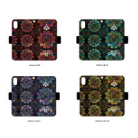 手帳型iPhone case>>>MANDALA-4color
