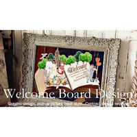 【請負DESIGN依頼・相談】≫Welcome Board Design