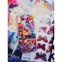1点物≫ Handmade iPhoneX,XSケース★2019-008(シルバー)