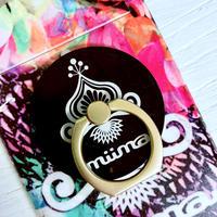 miima  logo スマホリング
