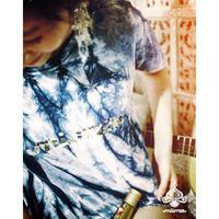 【個数限定】藍染Tシャツ (KIDS) ≫miima&BOND&JUSTICEコラボ企画