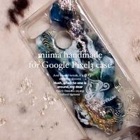 1点物≫ Handmade painting 【Google Pixel3】 耐衝撃ケース★G2020-001