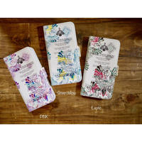 手帳型iPhone case>>>★ FLY-WORD OF MOTHERTERESA-3color-PINK/GreenYellow/Exotic