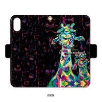 手帳型iPhone case>>>KIRIN