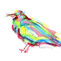 カラフルカラス〈Colorful crow〉