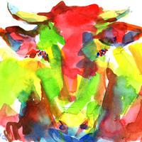 情熱の牛〈Passionate cow〉