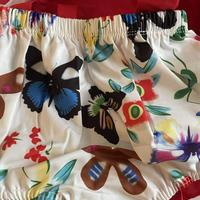ロンパースセット蝶々柄