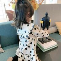 残り僅か。女の子  長袖ワンピース ドレス 秋ファッション 新作 子供服 3-8歳 韓国子供服