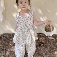 韓国1歳から7歳ドットドレス