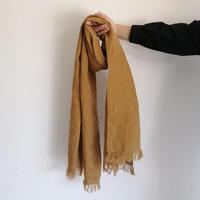fog linen work スカーフ  mustard