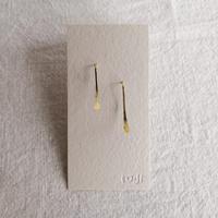 ro-ji フックピアス 真鍮 Mサイズ  BP121