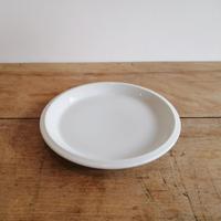 1970's  dead stock  白磁の皿