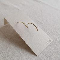 ro-ji フックピアス 真鍮 Mサイズ  BP117