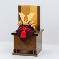 国宝模写「竹雀の兜」収納飾り