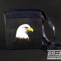 財布バッグ 紺 白頭ワシ【SB005】