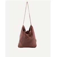 【MONK & anna 】Baya washed linen shopper • chestnut