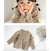 【bienabien】spring cable knit