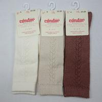 【condor  size 0, 2】baby side openwork socks / cava ,  linen , plarine