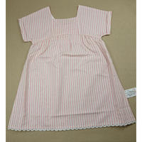 【happyology】Astrantia Dress, Red Stripe