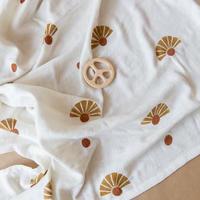 【little beacon】Muslin Blanket // Sunbloom